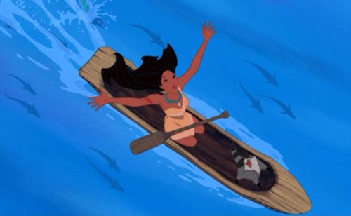 You have to admit, Pocahontas is pretty bad-butt.