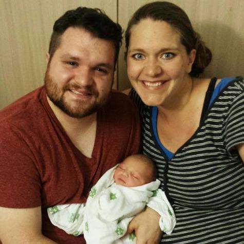 Josh, Laura, and Genevieve Louise Rhoads