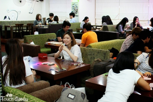 Noriteo Board Game Cafe. Photo by Abbi Sauro for Touch Daegu.