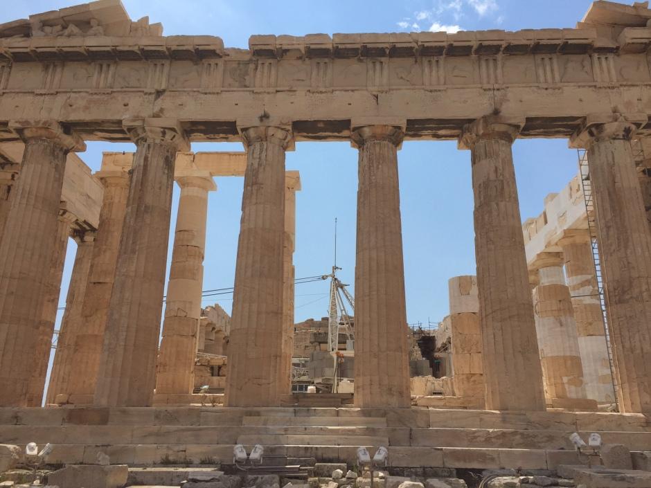 Parthenon (under construction)